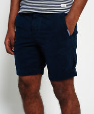 Superdry Mens International Chino Shorts Legion Blue UGR Small