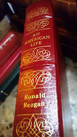 AN AMERICAN LIFE by Ronald Reagan - Easton Press Leather LIBRARY OF PRESIDENTS