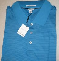 $69 NEW NWT CALVIN KLEIN MENS BIG & TALL POLO SHIRT SIZE 2X 3X 4X LIQUID COTTON