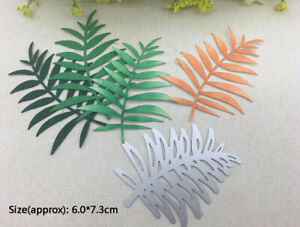 Blätter Metall Stencil Cutting Dies Scrapbooking Stanzschablone Karten Handwerk