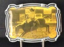 New Rodeo Saddle Back Belt Buckle