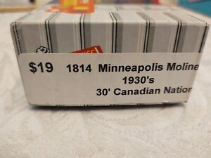 Roundhouse Products 1814 Minneapolis Moline Ho Flat Car