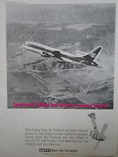 1/1971 PUB DOWTY ROTOL RAM AIR TURBINE LOCKHEED TRISTAR HYDRAULIC SYSTEM AD