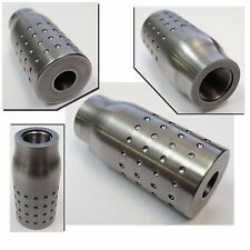Blank Muzzle Brake For 9mm Rifle 1/2x36 thread - For DIY / Gunsmith - Free Ship!