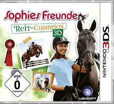 Nintendo 3DS Dual Screen Spiel ***** Sophies Freunde Reit-Champion 3D ***NEU*NEW