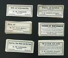 200+ Original Vintage Pharmacy Medicine Drug labels - early to mid 1900's