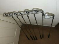 Lot 7 pieces NICE Nicklaus Golf N1 PRO Iron Set juRight Handed Graphite  Used