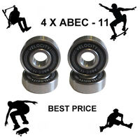 4 Abec 11 pro Wheel bearings Skateboard scooter Quad inline Roller skate 5 7 9