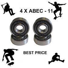 4 Abec 11 pro Wheel bearings Skateboard scooter Quad inline Roller skate 5 7 9