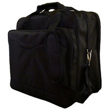 "15"" Nylon Expandable Brief Case / Carry On / Tote Bag"