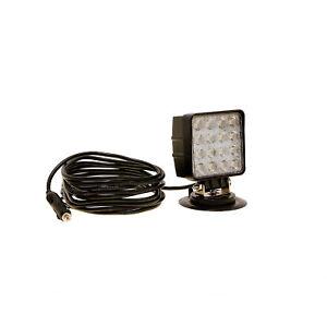 LED-MARTIN 48W Arbeitsscheinwerfer mit Magnetfuß - 12V/24V