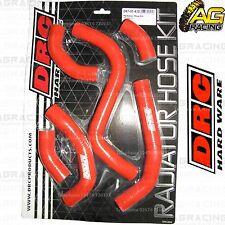 República Democrática del Congo Rojo Radiador Rad Manguera Kit Para Suzuki Rmz 250 2013 13 Motocross Enduro Nuevos