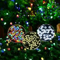 50 LED Curtain Fairy String Lights Hanging Backdrop Wall Lamp Wedding Xmas Party