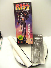 KISS DESTROYER GENE SIMMONS Model Kit Box - BOX INSTRUCTIONS BACKGROUND ONLY