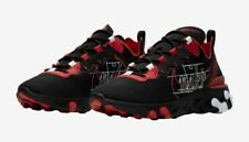Nike React Element 55 EOS CK9285 001 Black/Red/White Sz 8-13 Free Shipping