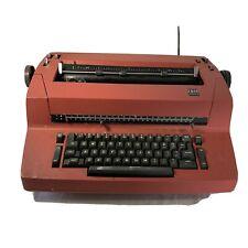 Vintage Ibm Correcting Selectric Ii 2 Electric Typewriter Red Untested