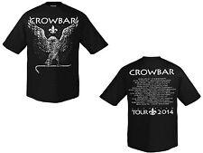 CROWBAR - Eagle Tour 2014 White - black T-Shirt - Größe Size S - Neu