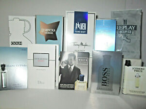 10 x Aftershave Samples Assorted lot