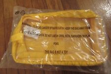 Supreme Utility Bag Yellow FW18 3M Reflective Logo 3.5L Supreme New York 2018 DS