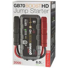 NOCO Genius GB70 Boost HD UltraSafe Lithium Jump Starter 2000A