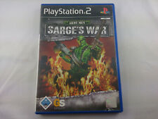 Army Men Sarges War Sony PlayStation 2 2004 PS2 PAL Spiel Game
