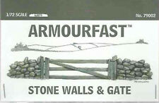 ARMOURFAST STONE WALLS & GATE NEW 1/72