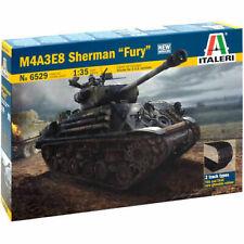 Tank Model Building Kit Italeri M4a3e8 Sherman Fury 1 35