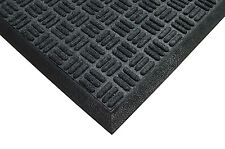 Heavy Duty Rubber Anti Fatigue Extra Thick Floor Mat Criss Cross Polypropylene