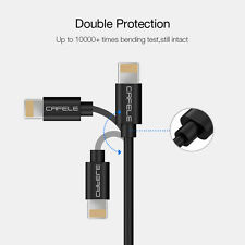 Bid 1X 1.6m TypeC Car Coiled USB Fast Charger Cable Data Sync Cord for Samsung