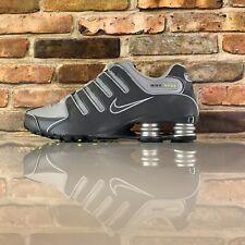 NIKE SHOX NZ SHOES MENS Running Shoe Size 8.5 Dark Wolf Grey 378341 009