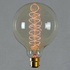 Ampoule déco à filament spirale - Géant sphérique à filament rétro vintage indus