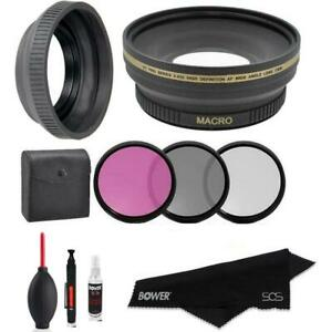 Lens Filter Accessory Kit For Nikon Coolpix P1000 Digital Camera