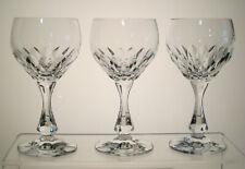 """VOLTERRA SCHOTT ZWIESEL White Wine Glasses 5 5/8"""", SET of THREE"""