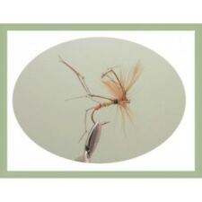 Daddy Long Legs Trout Fly, 6 Pack Orange Tipped, Mixed 10/12 Fishing Flies