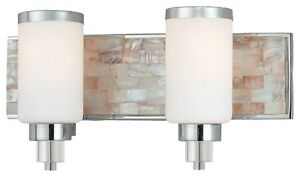 Minka Lavery 3242-77 Cashelmara 2-Light Bathroom Vanity - Chrome