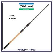 Canna da pesca in carbonio per feeder Shakespeare Sigma Supra canne fiume 10 ft