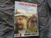 "DVD ""RIEN NE VA PLUS"" Isabelle HUPPERT, Michel SERRAULT / Claude CHABROL"