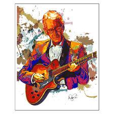 "Pat Martino Bebop Jazz Guitar Joyous Lake 11x14"" Music Art Print Poster"