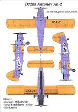 Karaya Models Decals 1/72 ANTONOV An-2 COLT Milka Chocolate