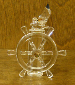 """CRYSTAL WORLD #1130 CAPTAIN SEAGULL, 3.75""""  NEW From Retail Store"""