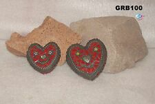 HEARTS FOR YOUR GARDEN -  MOSAIC, HANDMADE with a lot of BEAUTIFUL  GRB100