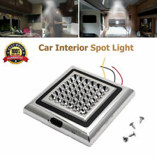 42 LED Indoor Roof Ceiling Interior Lamp Dome Light Car caravan camping DC 12V