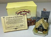 David Winter - The Cartwright's Cottage - with Original Box and COA