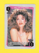 Barbi Benton Model Movie Film TV Pop Star Oversize Playing Card