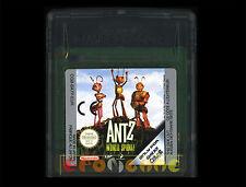 ANTZ WORLD SPORTZ Gameboy Color Italiano Versione Europea ••••• SOLO CARTUCCIA