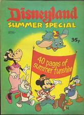 WALT DISNEY'S DISNEYLAND SUMMER SPECIAL 40 Pgs 1978 MICKEY DUMBO POOH PETER PAN
