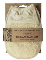 Hydrea London Organic Egyptian Loofah Exfoliating Bath Mitt LMT4