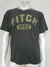 FITCH 1892 Abercrombie & Fitch XL T-Shirt Olive Green USA