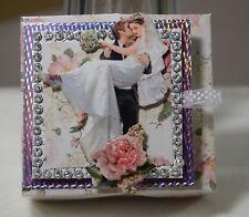Handarbeit, Geschenkverpackung, Hochzeit, Brautpaar, Geld, Gutschein, Box