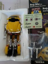 Tonka #7252 Super Go Bots Vw Bug Bite 028 Transformer Vw Robot Mint With Box